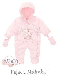 Ciepły pajacyk dla dziecka Muffinka  www.sofija.com.pl  #sofija #pajacyk #kombinezon #dziecko #ubrania #kidsfashion #baby #babymode #kindermode #kinder #ребенок #мода #vaikas #çocuk