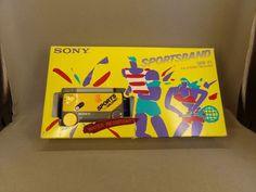Baladeur radio SONY SRF-F1 FM WALKMAN SPORTSBAND 1986 + box USA RARE | Image, son, Lecteurs, radios portables, Radios portables | eBay!