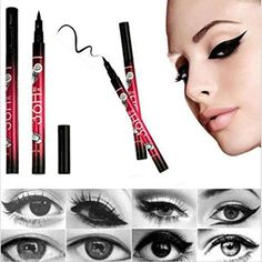 Hot Sale Waterproof Eye linerCanserin Liquid Make Up Beauty Comestics EyeLiner Pencil >>> Click image for more details. (Note:Amazon affiliate link) #Makeup