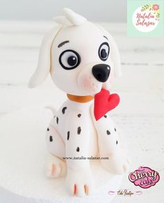 Puppy fondant cake topper Rice Krispies, Rice Krispie Treats, Puppy Cake, Fondant Tutorial, Sugar Paste, Plastic Wrap, Safe Food, Making Out, Cake Toppers
