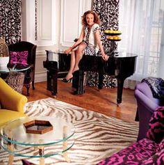 DVF puts her fashionable mark on Claridge's