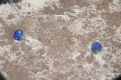 making craters. science for kids