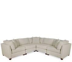 Boston Interiors Merritt Collection Sectional Sofa