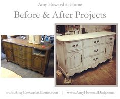 AHaH Before & After Projects! #diy #onesteppaint #beforeandafter #transformation #rescuerestoreredecorate   http://www.amyhowarddaily.com/2014/12/before-after-projects_26.html