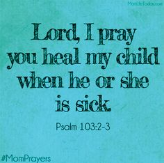 mom prayers but also older siblings can refer this to their younger siblings