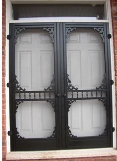 High Quality Exterior | Victorian Wood Screen Doors | Dufferin | Kurtz ...  Kurtzmillworks.com