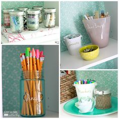 Operation: Organization 2015 – Abby from Just a Girl And Her Blog's Organized Office