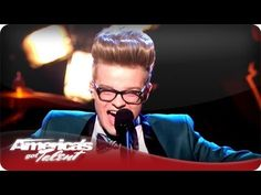 """Jake Wesley Rogers takes us to the """"Edge of Glory"""" on this One Million Dollars, America's Got Talent, Season 7, First Step, Singer, Music, Cards, Musica, Musik"""
