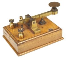"""Teaching children""""Telecommunications Morse Code""""  from the past"""