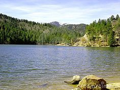 Bonito Lake-- Ruidoso, NM. I love to fish here with my favorite fishing buddy.
