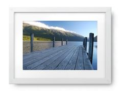 'Jetty, Lake Rotoiti, Nelson Lakes National Park, NZ' Photography For Sale, Lakes, Fine Art Prints, National Parks, Canvas, Image, Tela, Art Prints, Canvases