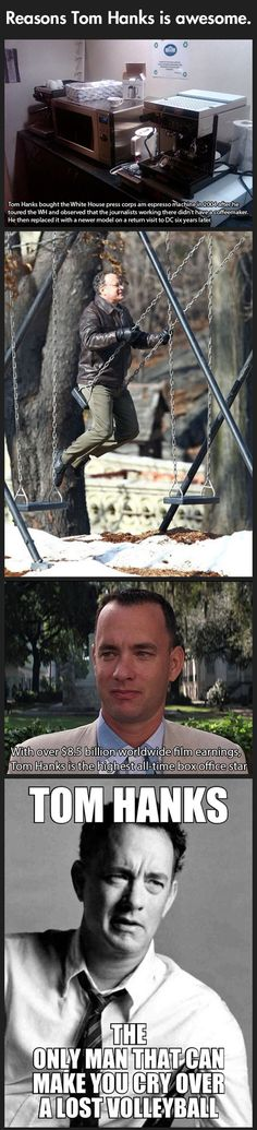 joindarkside » WHY TOM HANKS IS AWESOME.