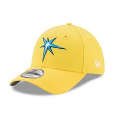 Tampa Bay Rays New Era Youth 2017 Players Weekend 9FORTY Adjustable Hat - Yellow