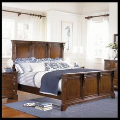 Bon Haynes Furniture American Traditions Hardwood Bedroom