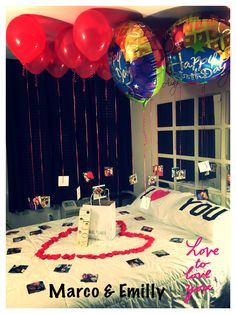 46 Stunning Porch Decorating Ideas Birthday Surprise The exact same way that you can do in order to anyone to surprise. The same way that you can likewise do something to provide a huge surprise to anybody. It is the best birthday surprise it Anniversary Surprise, Romantic Anniversary, Anniversary Gifts For Him, Husband Birthday, Boyfriend Birthday, Teen Birthday, 16th Birthday, Balloon Surprise, Surprise Gifts For Him
