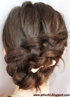 For any day.. Just a messy braided updo...