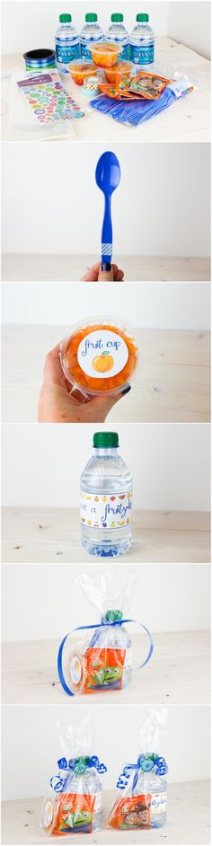 healthy preschool snack idea but Halloween themed!!