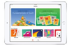 Apple's Swift Playgrounds is an app that teaches kids how to code