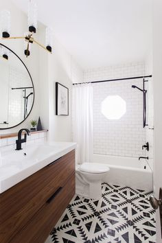 Modern Bathroom Inspiration + a Renovation Update