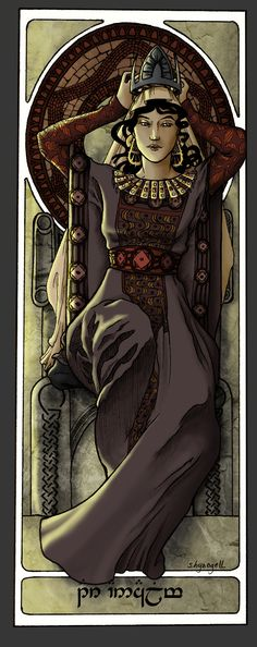 Queens Of Numenor - Tar-Ancalime by ~shyangell on deviantART