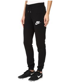 ... nike rally tight pant black/black/antique silver/white zappos ...