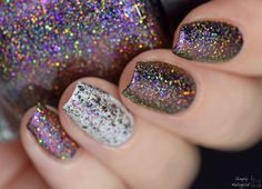 Brand: Starrily // Collection: Heavenly Holos (2015) // Color: Mars // Blog: Simply Nailogical