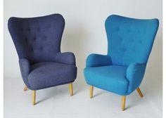 Blue DA1 Armchair by Ernest Race for Race Furniture, 1950s 3