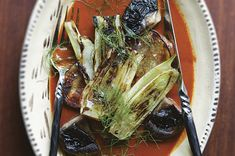 Yellow Mole with Grilled Vegetables