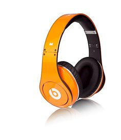 Monster beats orange