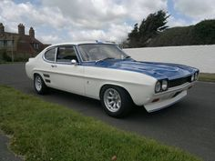 Image may contain: car, cloud, sky and outdoor Mk 1, Ford Capri, Ford Classic Cars, Car Stuff, Bbc, Mustang, Euro, Cloud, Wheels