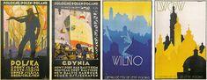 Carteles polacos: El estilo que rompió todos los esquemas del diseño gráfico (años 20-30: Turismo y Publicidad)
