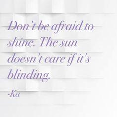 Shine baby shine ☀️☀️☀️#ka #missfixitdubai #dubaiadviceblogger #dubairelationshipcoach