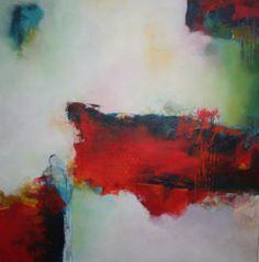 Geen titel. afmeting 60 x 60. Ik geef mijn schilderijen geen titel. Mijn gevoel speelt een cruciale rol bij het maken van mijn schilderijen . Ik hoop dat ik mijn gevoel kan overbrengen aan de bezoeker.