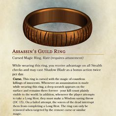 DnD Magic Ring made by yours truly! Dungeons And Dragons Game, Dungeons And Dragons Homebrew, Dnd Dragons, Tabletop Rpg, Tabletop Games, Fantasy Weapons, Fantasy Rpg, Dungeon Master's Guide, Dnd 5e Homebrew