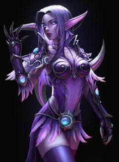 Amazing Night Elf girl: World of Warcraft game. Oct Anime Arts [rARTs]: Collection of anime pictures Art Warcraft, World Of Warcraft Game, World Of Warcraft Characters, Fantasy Characters, Elves Fantasy, Fantasy Warrior, Final Fantasy, Fantasy Women, Fantasy Girl