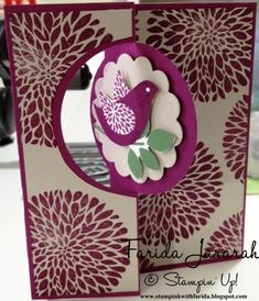Birds and Blossoms by faridaj - Cards and Paper Crafts at Splitcoaststampers