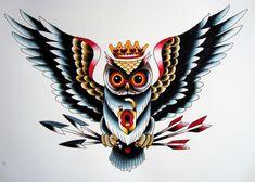 ลายสักเเนว Old School Tattoo - Postjung.com