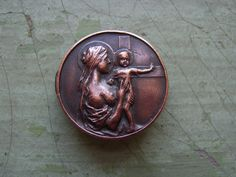 A Lovely Antique/Vintage 'Mothers' Union' Copper Pin/Badge Circa 1910's-1920's. by TownshendsEmporium on Etsy