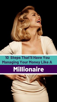 10 Steps That'll Have You Managing Your Money Like a Millionaire - Finance tips, saving money, budgeting planner Budgeting Finances, Budgeting Tips, Money Tips, Money Saving Tips, Renda Extra Online, Financial Tips, Financial Planning, Managing Your Money, Do It Yourself Home