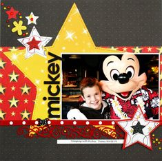 Disney layout by Greta Hammond