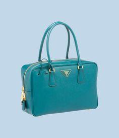 Prada Saffiano Calf Leather Top-Handle Bag BL095FNZVF0491 - iLUXdb.com Realtime Luxury Product Database