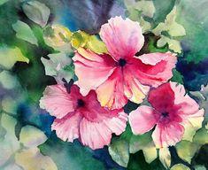 Hawaiian Hibiscus Painting