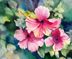 Hawaiian Hibiscus Painting