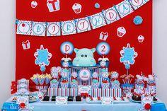 Hippo / Zoo / Animal Birthday Party Ideas | Photo 27 of 33