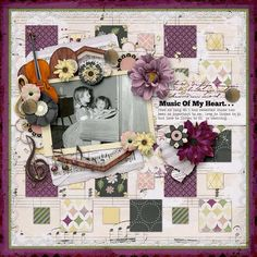 The Digichick :: Digital Kits :: High Notes Page Kit