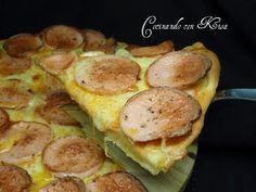 Cocinando con Kisa: Pizza de salchicha alemana (KitchenAid y horno tradicional)