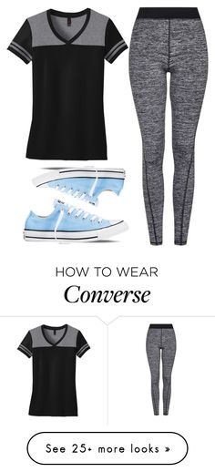 """Idk#180"" by short-n-complex on Polyvore featuring Converse and Topshop"