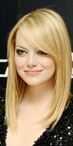 emma stone buttery blonde hair color