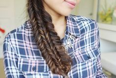 Double Fishtail Braid Tutorial Hairstyle