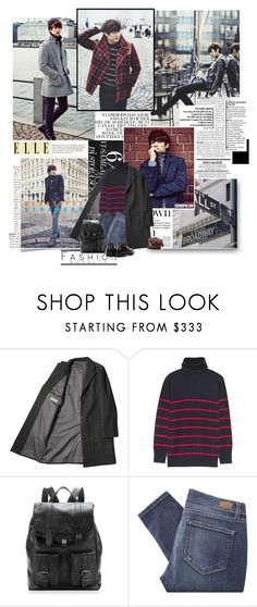 """Choi Min-ho - Cosmopolitan December 2014 Issue"" by xoreinaox ❤ liked on Polyvore featuring Band of Outsiders, Proenza Schouler, Paige Denim, Church's, shinee, downtown and minho"
